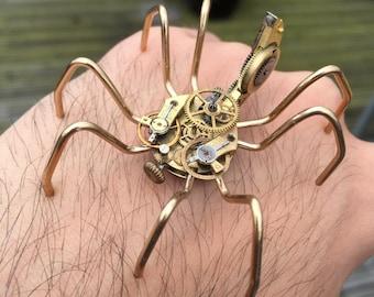 No.17 Quentin the Brass Spider