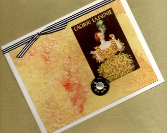 Cachou Lajaunie All Occasion Handmade Greeting Card PSS 1031