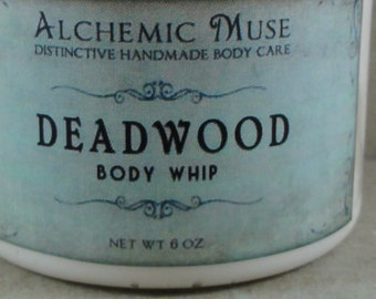Deadwood - Body Whip - Wild Honey, Golden Amber, Worn Brown Leather