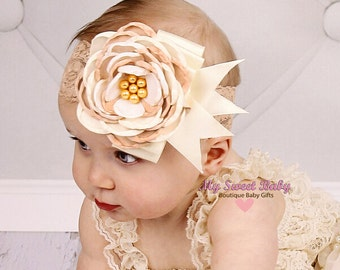Baby Headbands - Baby Headband -  Flower Headband - Baby Hairbow - Infant Headband - Toddler Headband - headband baby - Baby bows
