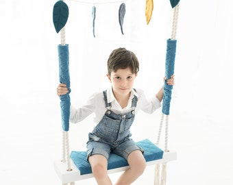 Swing for Kids, *** fast delivery***, Wooden Swing, Toddler Swing, Indoor Swing, Best Birthday Gift