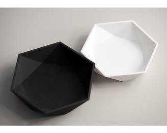 Octagon Bowl - Decorative Bowl - Kitchen Decor - Living Room Decor - Designer Bowl