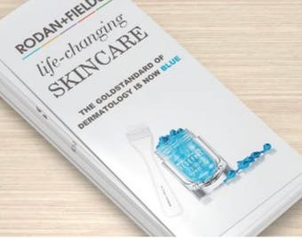 NEW Rodan + Fields Rack Card NEW PRODUCT brochure inserts (Instant Download)
