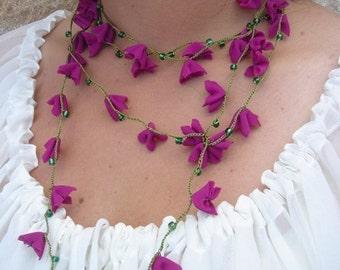 Thalia 2 Freeform Necklace \/ Hairband \/ Wristband