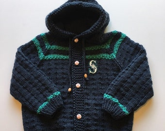 Boys Seattle Mariner Sweater