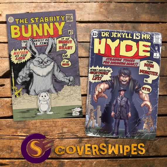 Stabbity Bunny #7 & Jekyll and Hyde #1