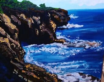 Cliffside Landscape