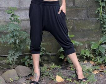 Drop pants ~ Yoga pants ~ Bamboo Harem pants ~ Women pants ~ Lounge pants ~ Harem Pants