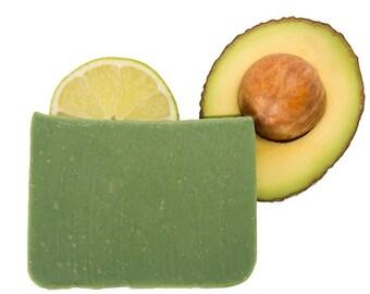 Avocado Soap, Unscented Soap, Natural Soap, Mens Soap Handmade, Soap for Men, Soap Men, Vegan Soap, Organic Soap, Eczema Soap, Psoriasis
