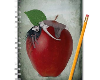 Snow White | Cute Notebook | Writing Journal | Fairytale Gift | A5 Notebook | Creepy Cute | Notebook Journal | Diary | Sketchbook | Notebook