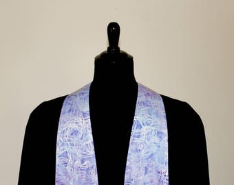"Clergy Stole, Lavender #288, Pastor Stole, Minister Stole, 54"" Length, Clergy Wear, Vestments, Church"