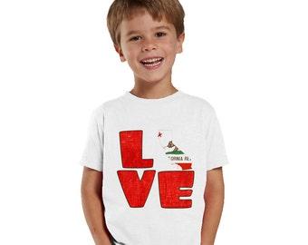 Love California kids shirt