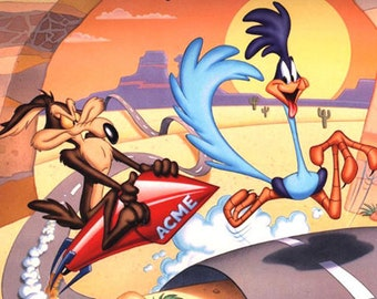 Road Runner Cartoon Cross Stitch Pattern***LOOK***