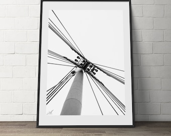 Abstract Black & White, Creative, Modern, Wall art, Digital Photography, Download
