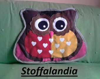 CARPET OWL LITTLE HEART GIFT IDEA