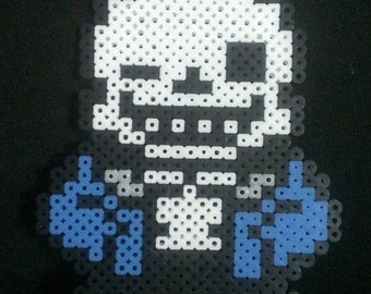 Undertale Sans Pixel Art Bead Sprite perler kandi