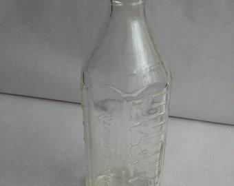 Vintage pyrex glass baby feeding bottle