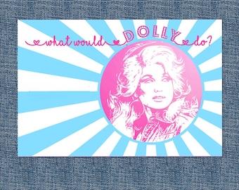 Dolly Parton Greeting Card
