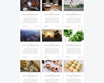 Fast, Responsive and Premium WordPress Blog Theme - Suzzia. Retina Ready. Multipurpose Blog Theme. Wordpress Website to make you shine