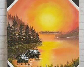 Alaska's Sunset at Fisherman's Cove