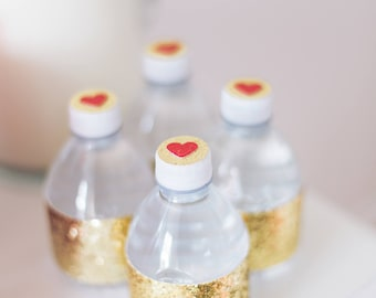 Valentine's Day Water Bottle Toppers (12)