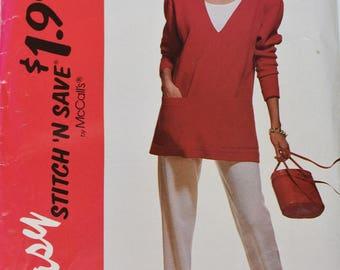 Vintage 1992 McCall's Easy 6092 Size B (unused)