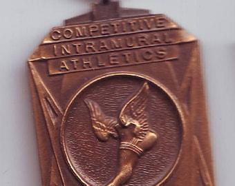 Bronze Competitive Intramural Athletics  Medal  Ex August  Frank Philadelphia PA