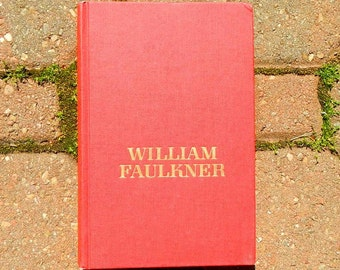 Sanctuary by William Faulkner 1958 Edition Vintage Hardcover Book