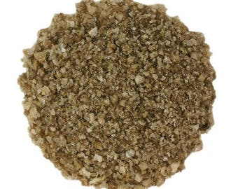 APPLEWOOD SMOKED Sea Salt. Sold by weight- you choose size! Gives a luscious smoky flavor to culinary dishes. Rubs, BBQ, soups. meats