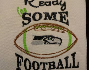 Seahawks tea towel Are you ready for some football