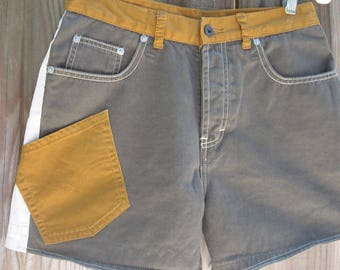 Shorts up-scaled from Ralph Lauren, Union Bay, Levis. Color contrast