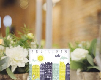 Travel Themed Wedding / Destination Table Marker / Custom Table Numbers / Country Table Name / Wedding Place Setting / Map Table Numbers