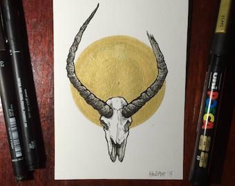 Inktober 2015 Day #3 - (Original drawing)