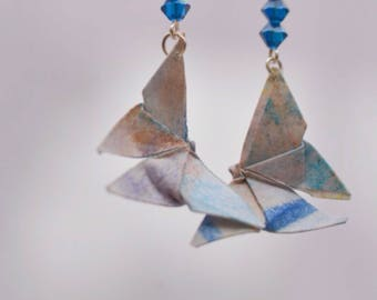 Origami Butterfly shape earrings