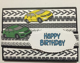 Handmade pop up gift card holder for Birthdays ( gift card not included )
