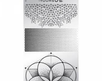 Angular fade - stamping plate