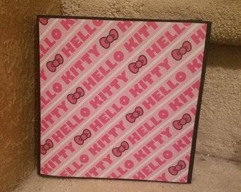 Hello Kitty Mini Album, Scrapbook, Hello Kitty, Journal
