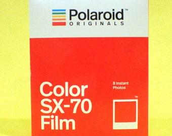 POLAROID SX-70 Color Instant Film fresh for your Polaroid Camera