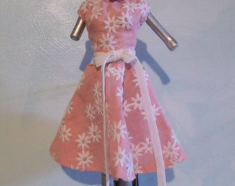 Barbie 1950's Style Floral Dress