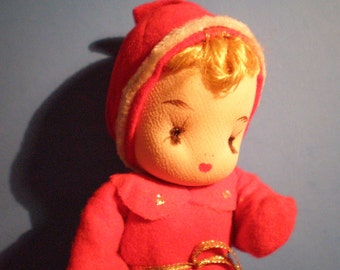 Vintage Mid Century Christmas Decoration - Blond Angel - Made In Japan