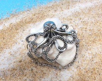 Octopus bracelet, ready to go, great gift