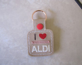 I Love Aldi's Quarter Keeper
