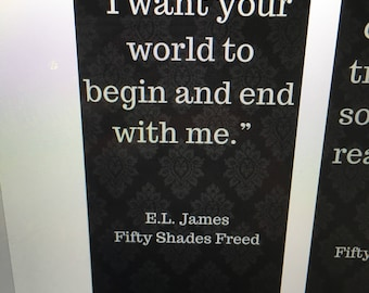 Fifty Shades Freed Bookmark