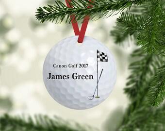 Golfball Ornament