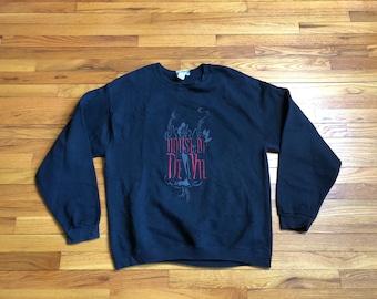 Vintage Cruella De Vil Sweatshirt Disney 101 Dalmations Size Large
