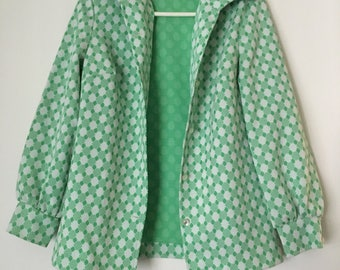 Vintage 70s Green Coat