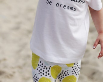 Dont Let Your Dreams be Dreams , Baby Graphic Tee, Gender Neutral Baby Clothes, Toddler Shirt, Baby Girl Clothes, Jack Johnson, Graphic Tee