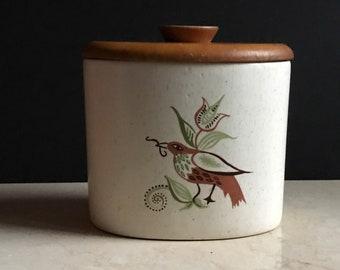 Vintage Ceramic Lidded Canister