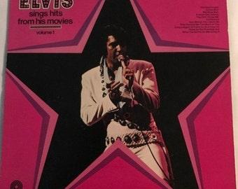 Elvis Sings Hits From His Movies Vinyl Record