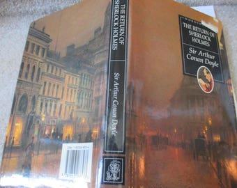 The Return of Sherlock Holmes by Sir Arthur Conan Doyle illustrated